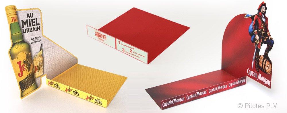 Stop-rayons classiques en plastique imprimé